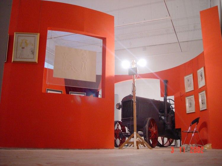 Дизайн интерьера. Выставка «Сальвадор Дали. Золотой век» (2002–2003 годы)