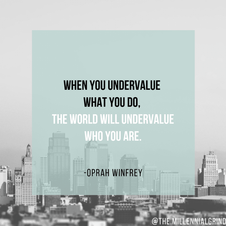 Motivational Quotes For Millennials by Oprah Winfrey