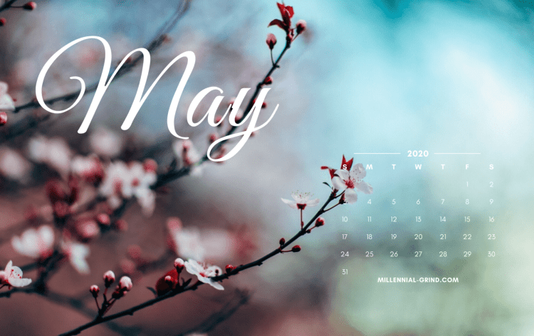 The Millennial Grind Free Wallpaper for May 2020