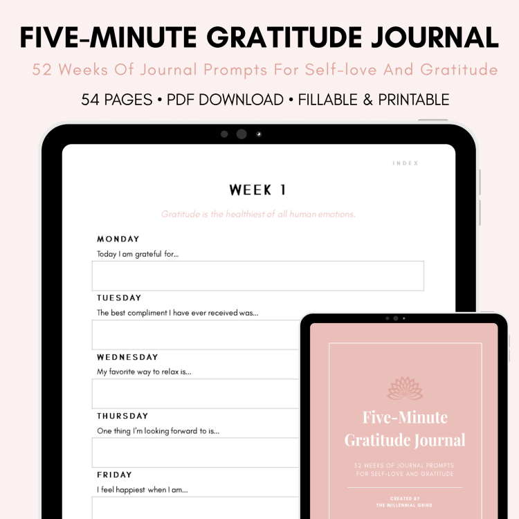 Five-Minute Gratitude Journal