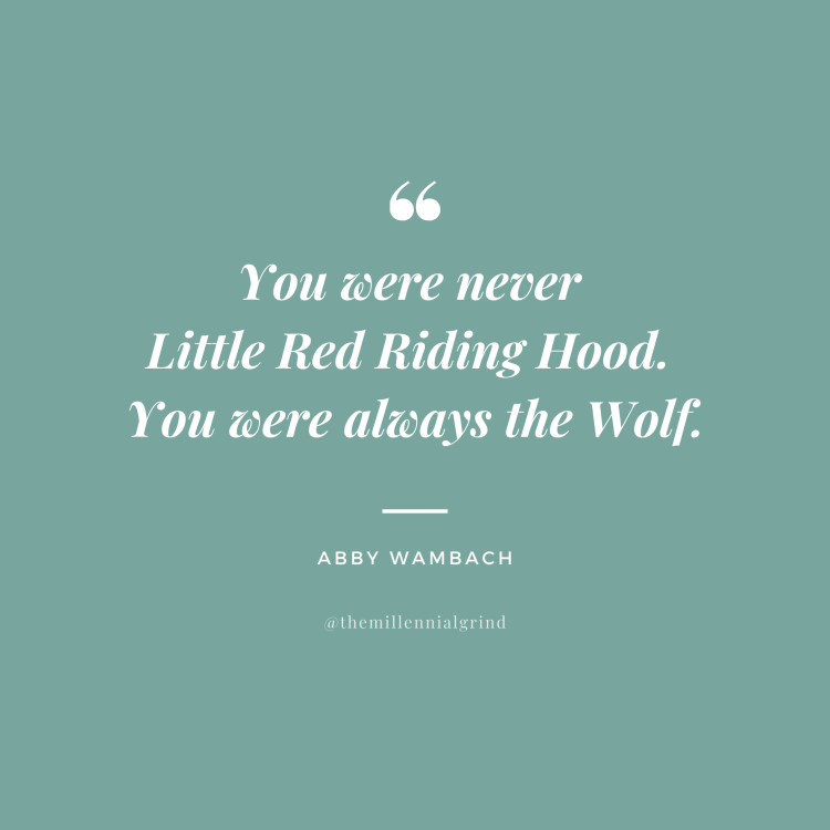 30 Inspirational Quotes from Wolfpack by Abby Wambach