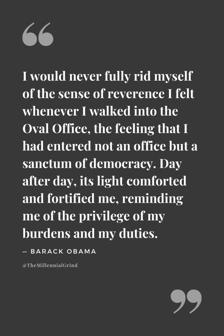 Quotes From A Promised Land by Barack Obama
