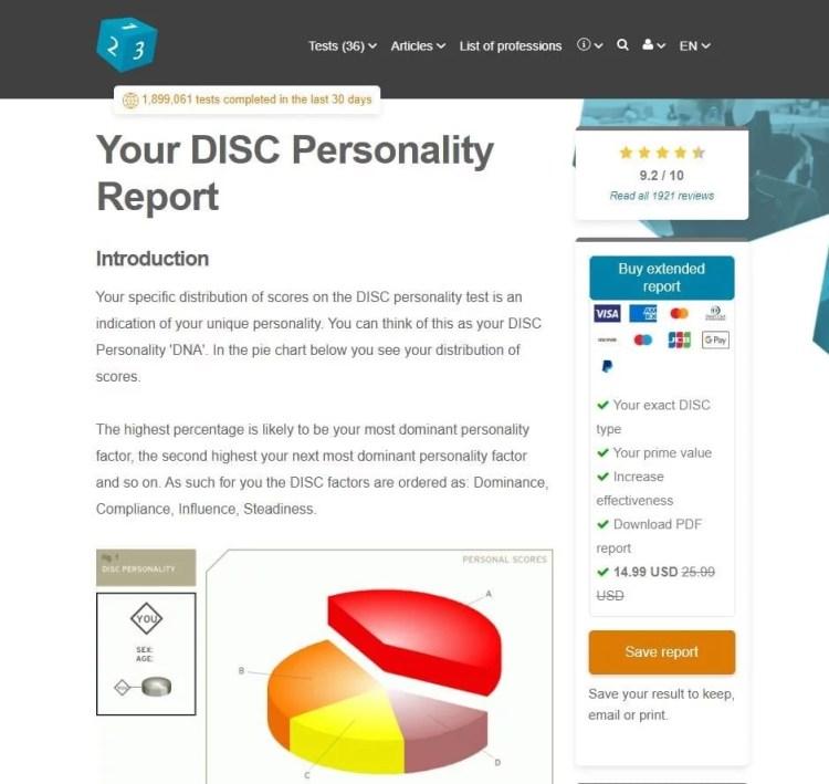DISC Assessments - 123 Test