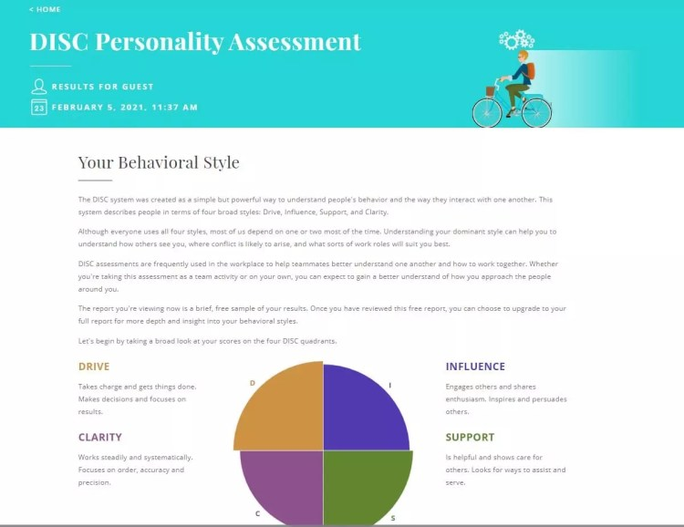 DISC Assessments - Truity