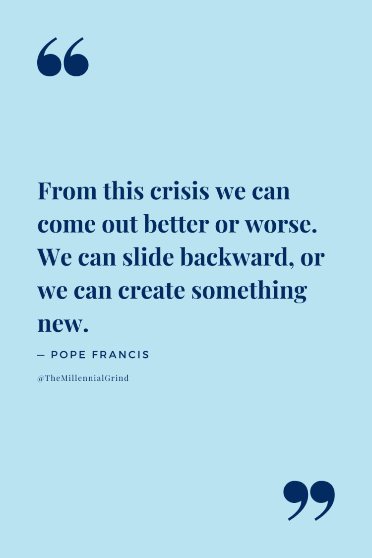 Quotes From Let Us Dream by Pope Francis