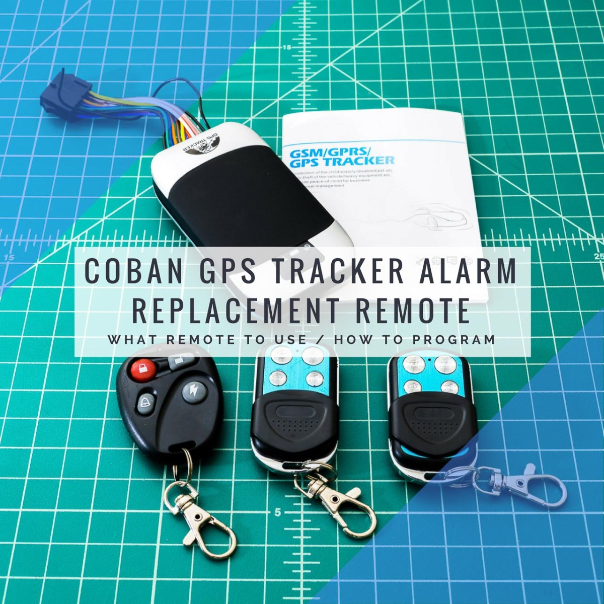 Coban GPS Tracker Alarm Remote Replacement