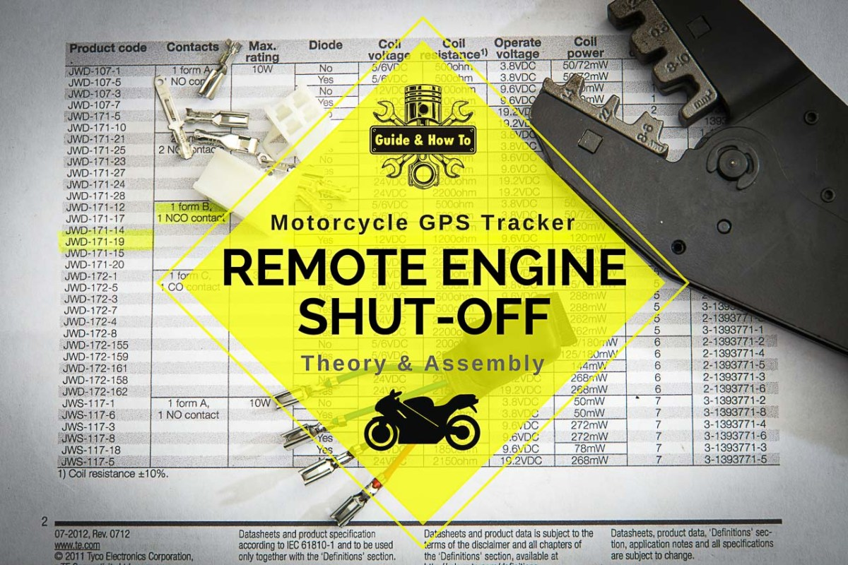 Remote Engine Shut-Off Device for Motorcycles - Theory and Assembly
