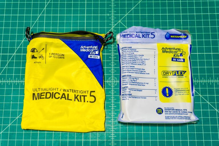 This is the bag I use to contain my kit. It's rugged, compact and waterproof. Perfect for a motorcycle.