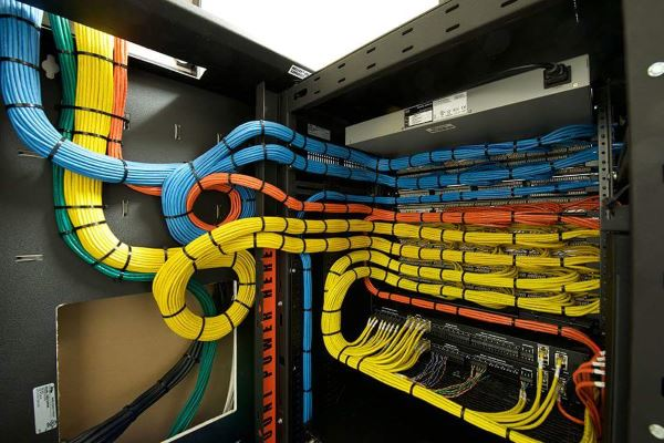 Though completely unrelated, let's take a moment to indulge the wiring OCD in all of us. Oh the beauty of thousands of well organized, crimped cables.