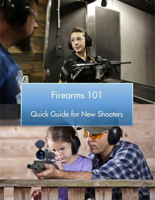 Firearms 101 - Quick Guide for New Shooters - Cover