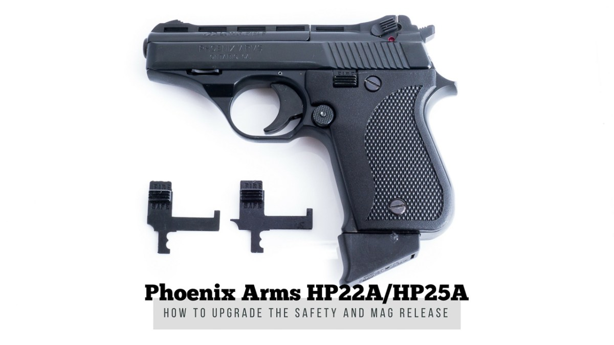 Phoenix Arms Upgraded Safety - HP22A/HP25A