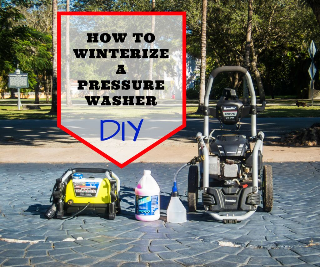 How to Winterize a Pressure Washer with DIY Pump Saver