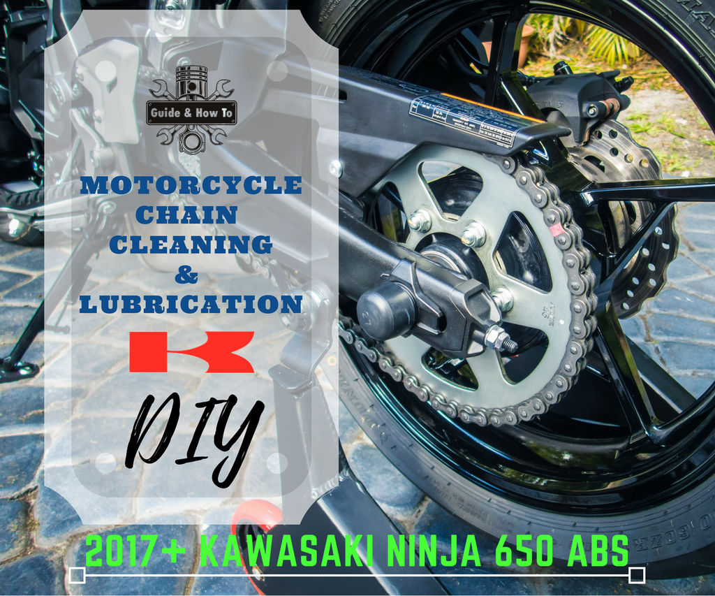 Motorcycle Chain Maintenance - Cleaning & Lube