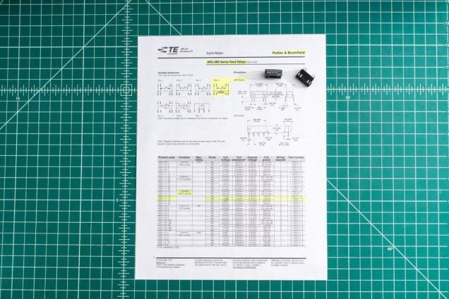 Checking the datasheet is always a good starting point.