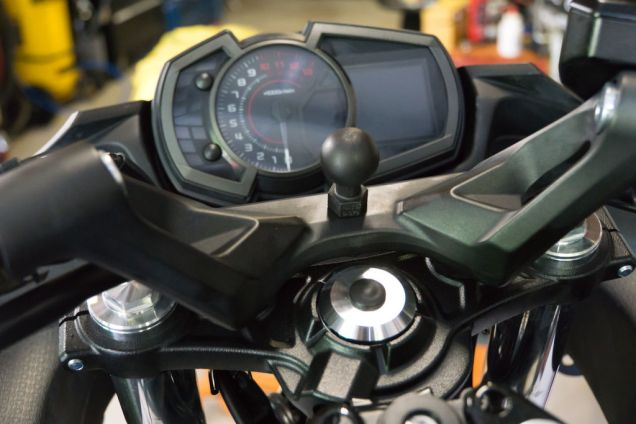 Ram Mount Motorcycle Phone Holder - 25