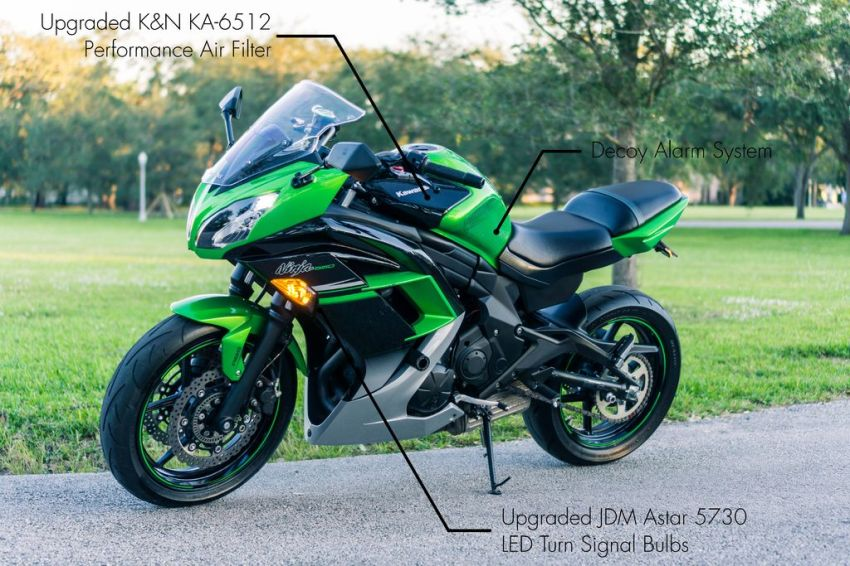 Add as many images you'd like to see if you were considering spending a few thousand bucks on a used motorcycle.