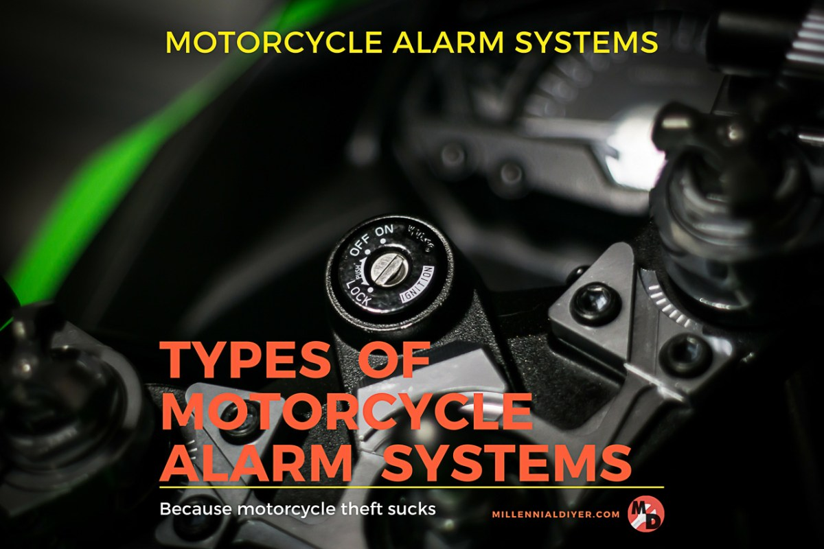 Types of Motorcycle Alarm Systems - The Best Alarm