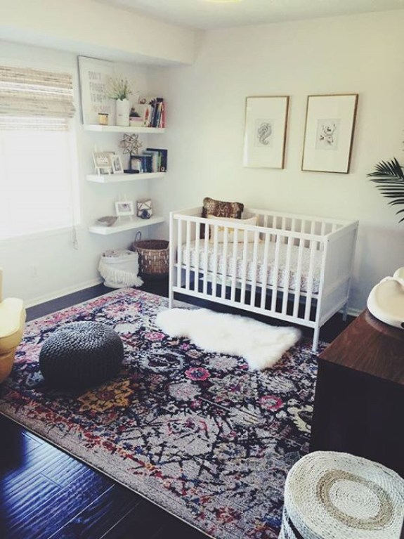 Another source I can't find! Sorry to have failed you. Regardless, that rug and those frames are awesome additions to a modern OR traditional space