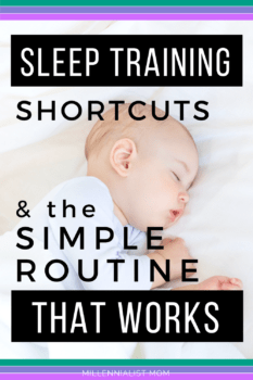 The easiest shortcuts for busy moms to #sleeptrain a baby. Friends and family are AMAZED when they see how easily I put my baby down for bed, a year and a half later!! the simplest #bedtimeroutine is here! Read more now to learn my secrets.