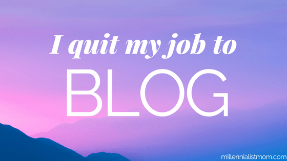 What I Learned When I Quit my Job to Blog: Jumping off the Corporate