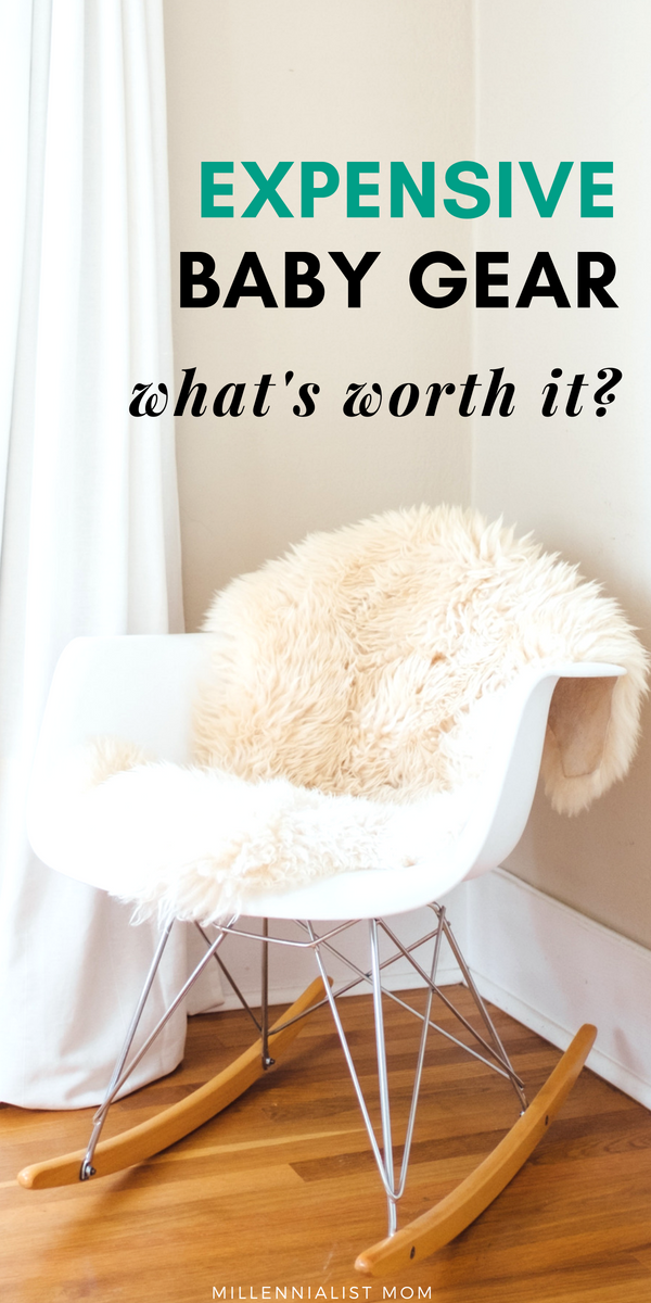 I am sooo frugal, and when I received a couple huge hauls of essential baby products - I thought I was set! But it turned out, you will never be handed everything. A lot of stuff is better used, some stuff is better cheap, but some stuff is worth the hefty price tag. So this is my run down of what expensive baby gear is worth the price & why! #babyregistry #newborntips #newmom #babyshower #frugalmom #budgeting