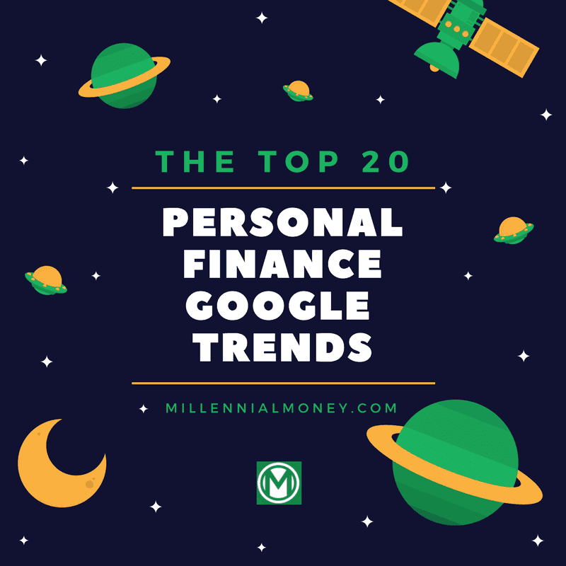 Personal Finance Google Trends