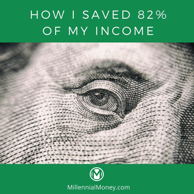 How I Saved 82 Percent Income