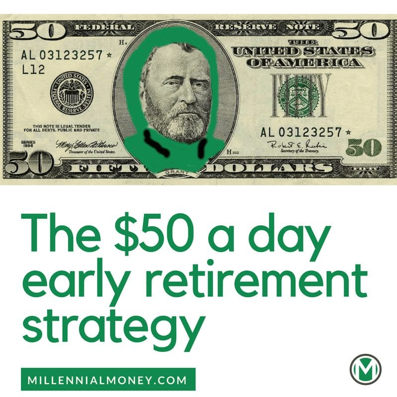 948519814c6  50 A Day Early Retirement Strategy (Retire Early!)