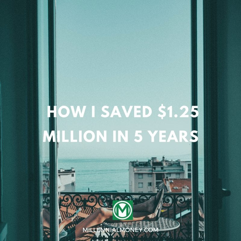 how i saved $1 million