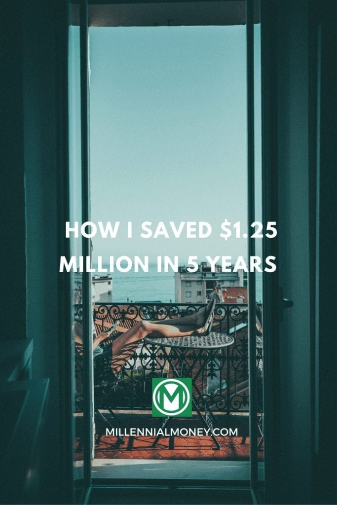 how to save $1 million