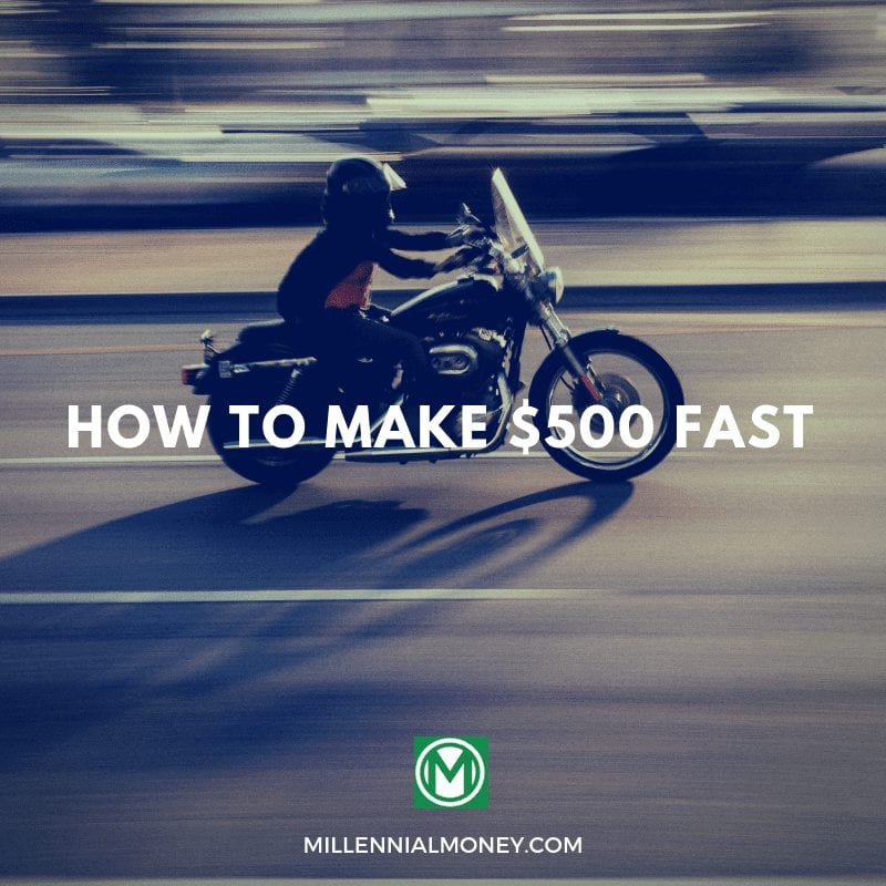 Are you interested in learning how to make money fast? This post teaches How To Make $500 Fast