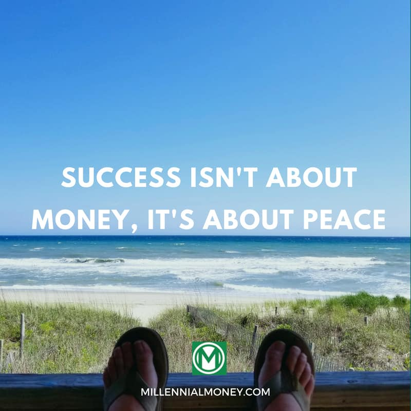 Success Isn't About Money