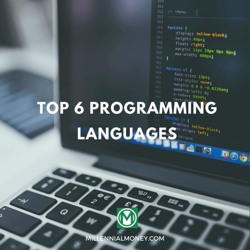 Top 6 Programming Languages