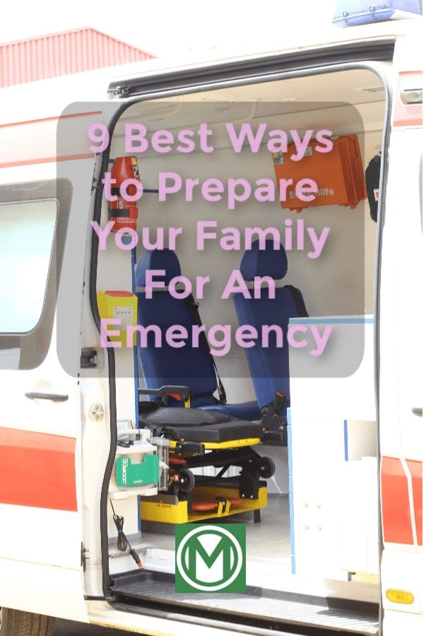 Is your family prepared in case of an emergency?
