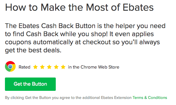 Ebates Google Chrome Extension, Ebates Review