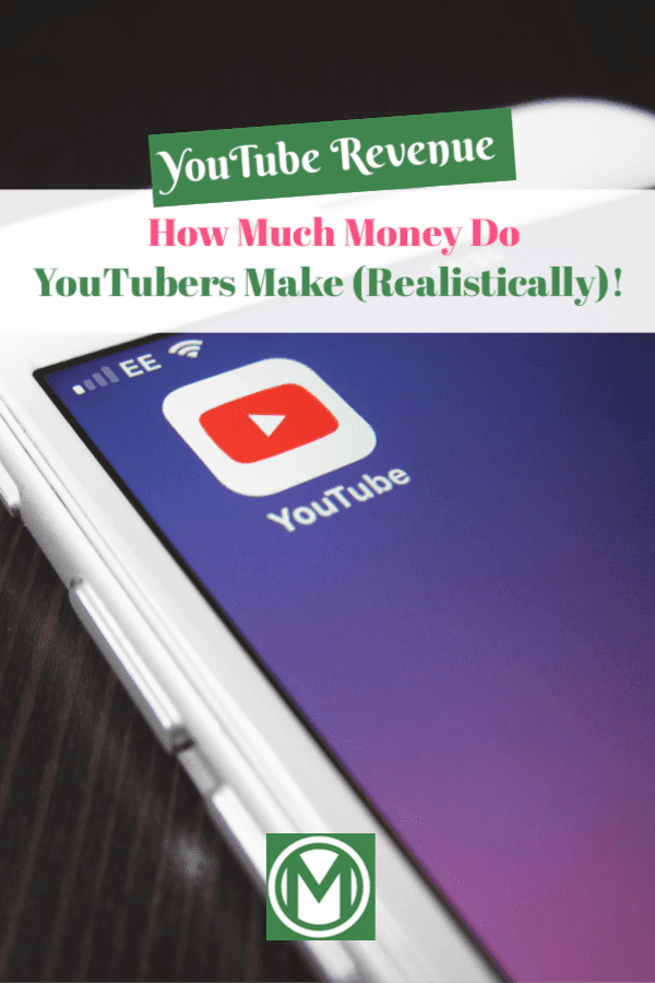 If you are curious how much youtubers make, check out this post. There's big money in the YouTube market, but not everyone is making money.