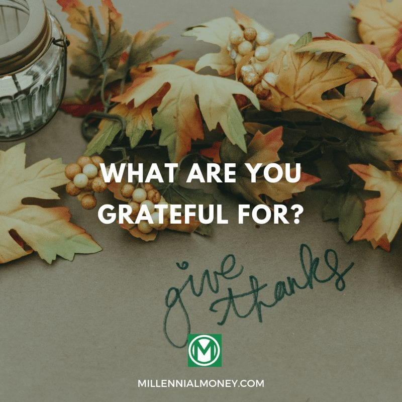 What are you grateful for