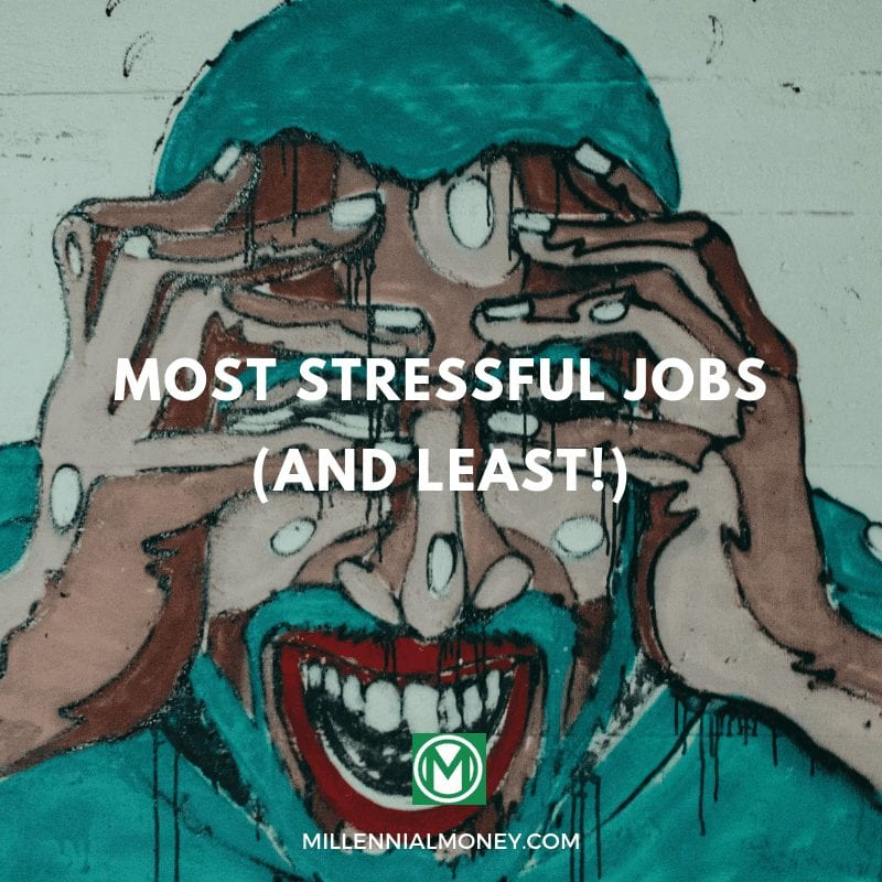 most stressful jobs and least stressful jobs
