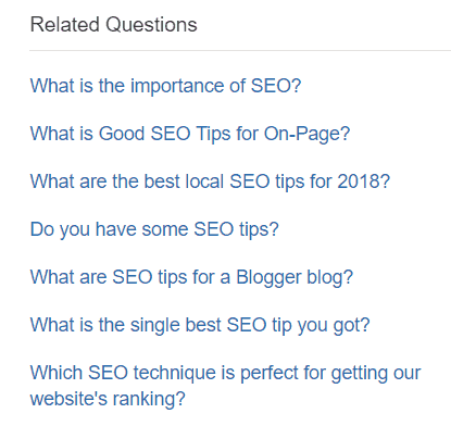 Steps to Drive Traffic to your Website with Quora. quora related questions