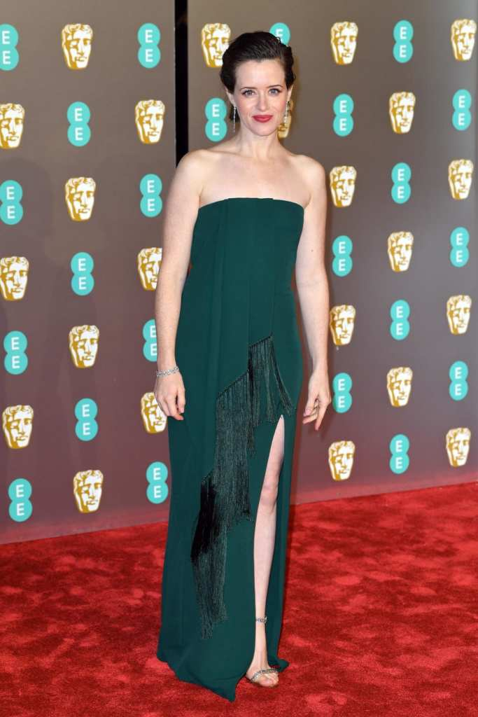 Claire Foy at the 2019 BAFTAs