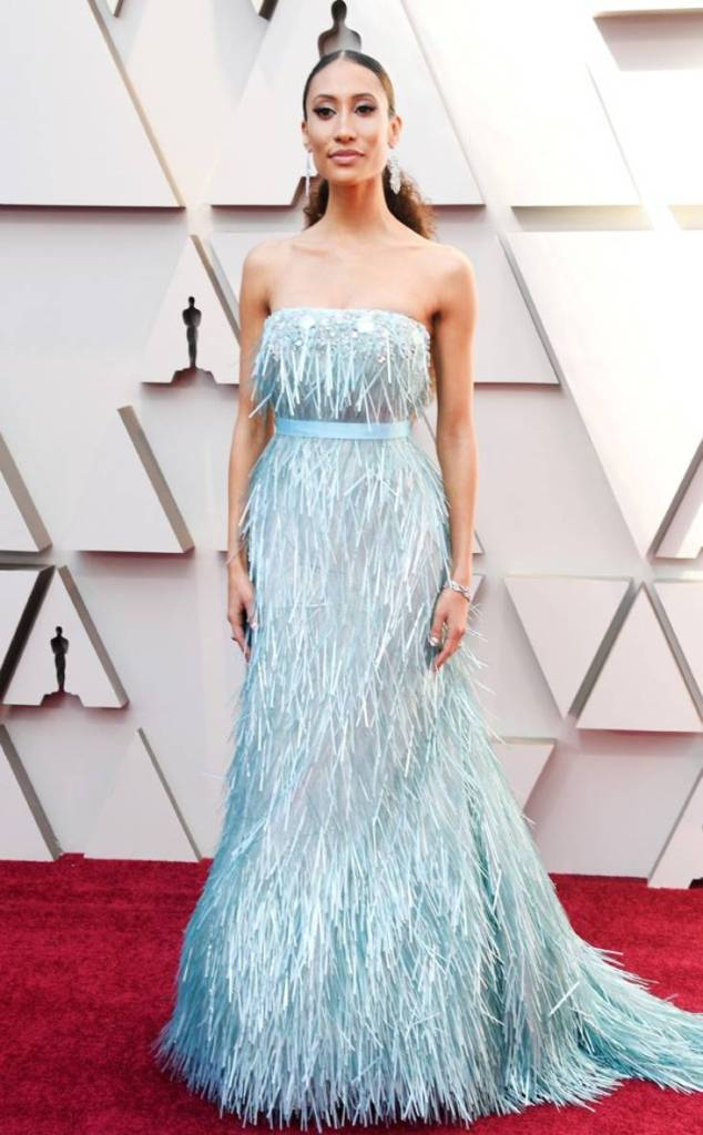 Elaine Welteroth at the 2019 Oscars