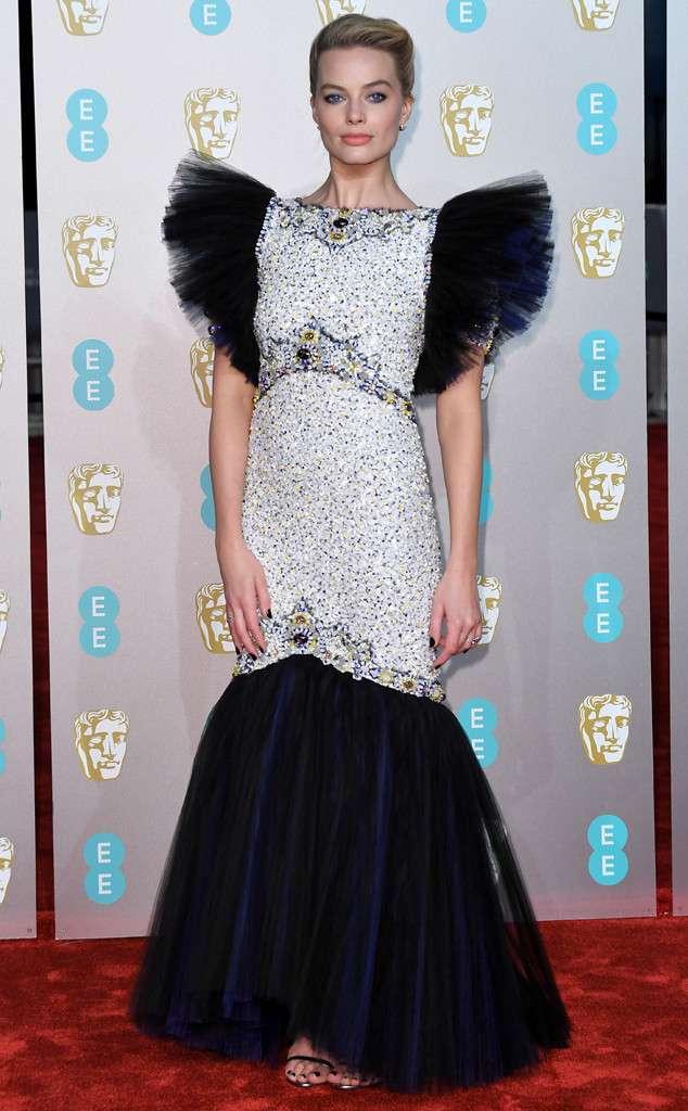 Margot Robbie at the 2019 BAFTAs