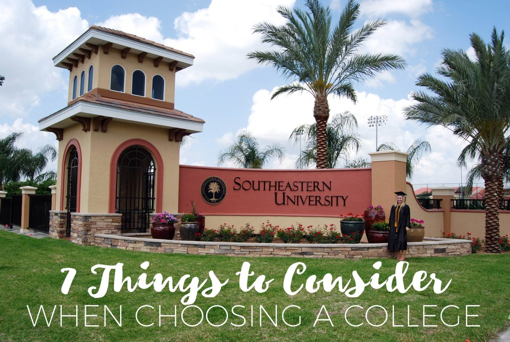7 Things to Consider When Choosing a College | Millennials with Meaning