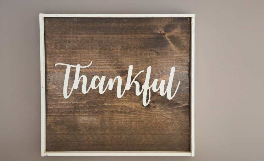 Why I Keep a Thankfulness Journal