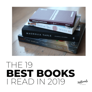 The 19 Best Books I Read in 2019 | Millennials with Meaning