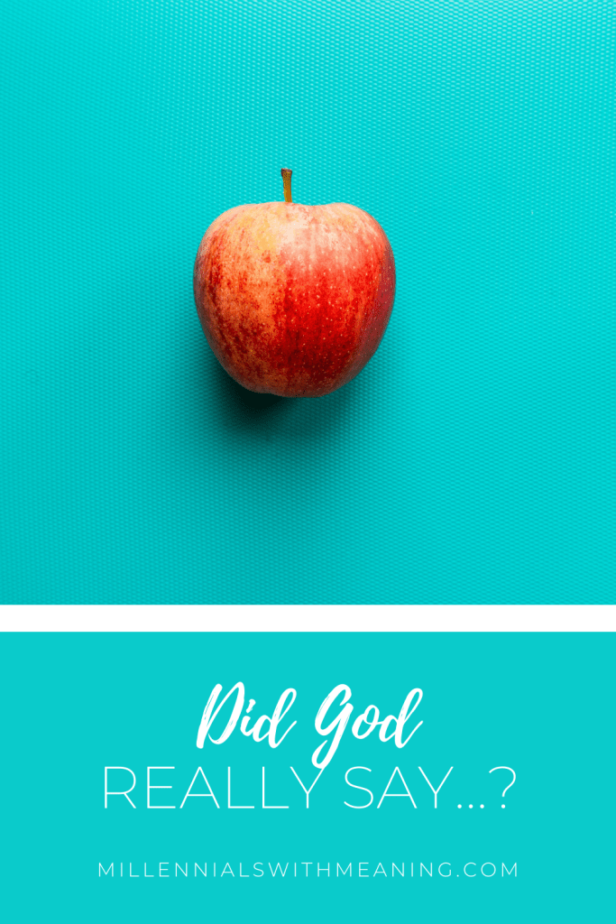 Did God Really Say...? | Millennials with Meaning
