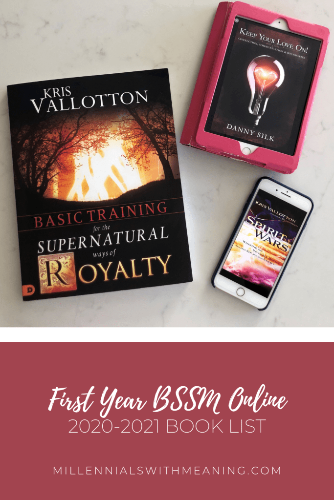 First Year BSSM Online 2020-2021 Book List | Millennials with Meaning