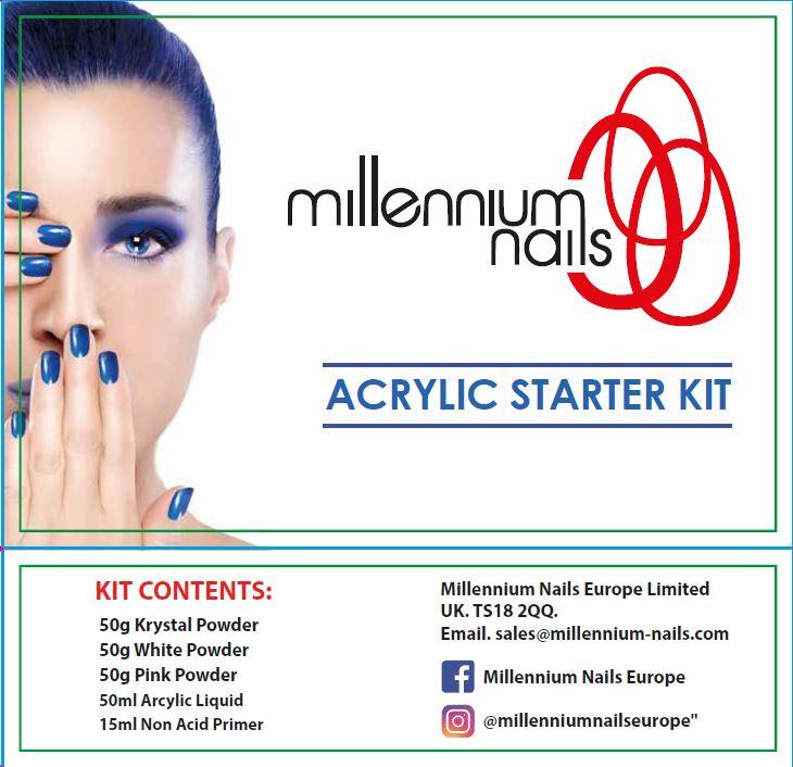 Acrylic Starter Kit Millennium Nails