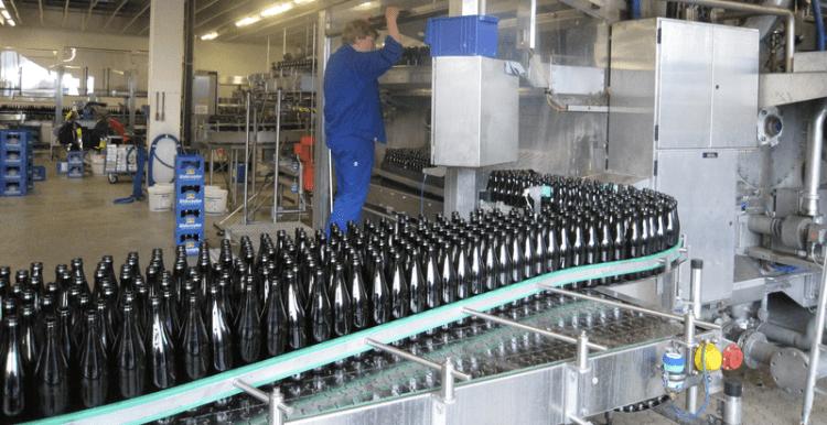 Weihenstephan bottling plant