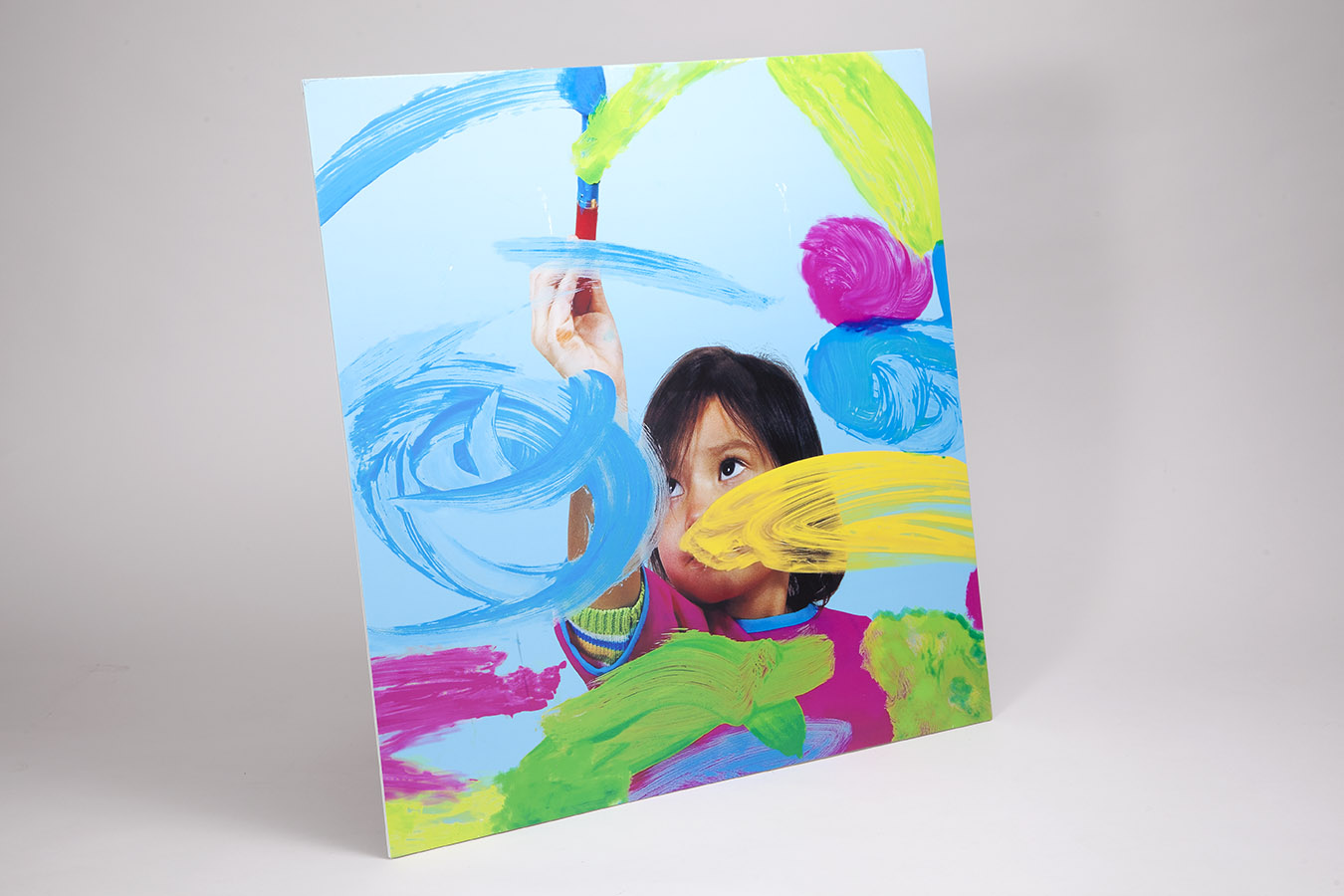 Gatorboard mounted photo panel